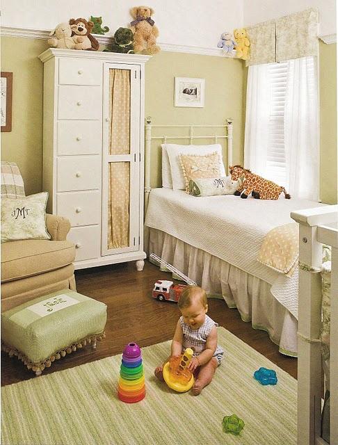 Neutral Baby Girl Nursery: Gender Neutral Nursery
