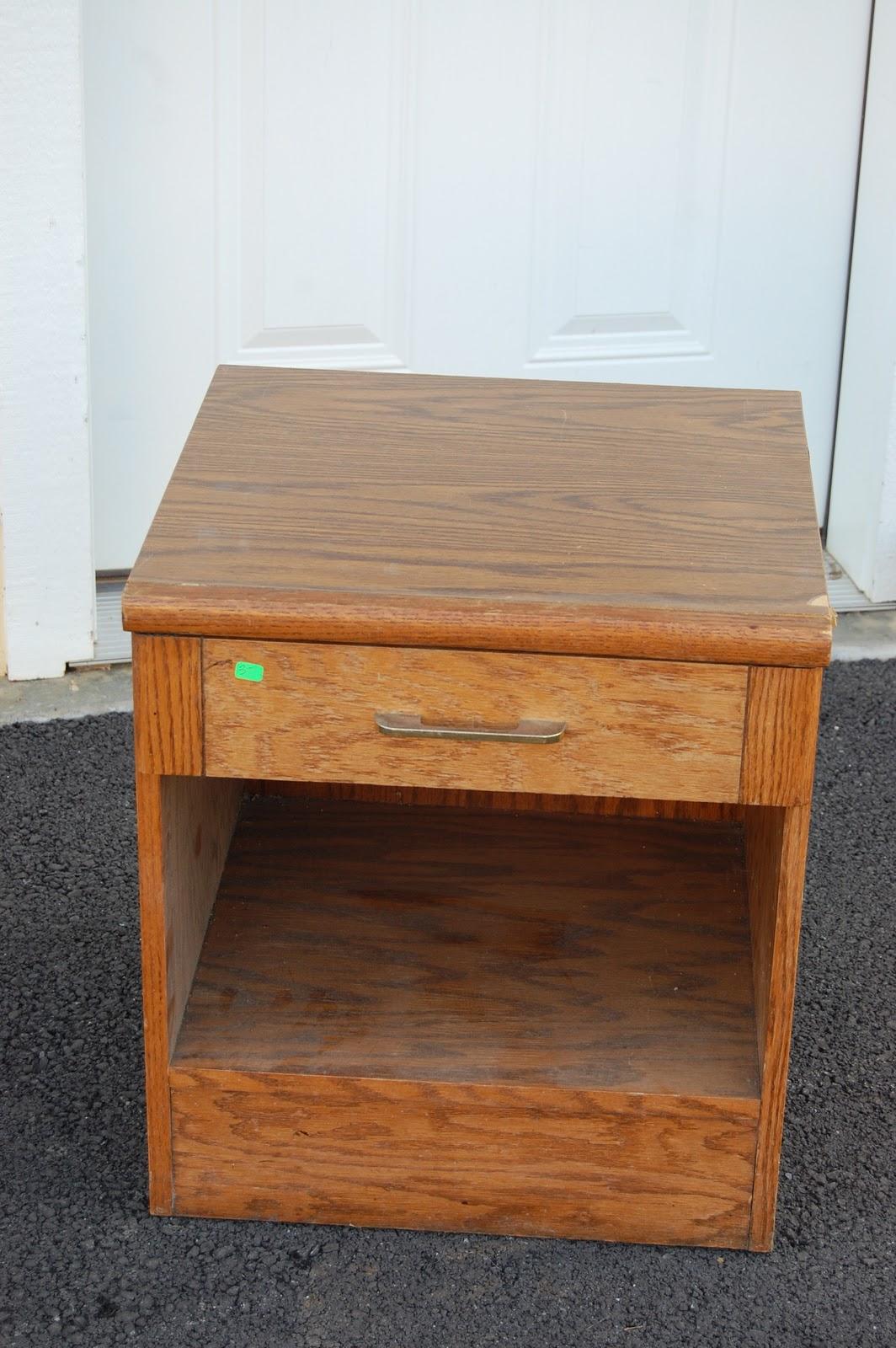 Nightstand Repurposed It S Now A Kids Workbench Design