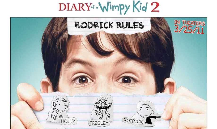 Diary Of A Wimpy Kid 2 Rodrick Rules Clips Teaser Trailer