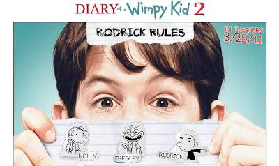 Film Journal d'un dégonflé 2 Rodrick Rules