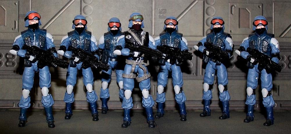 Reasonably Intelligent Rambling Resolute Cobra Troopers