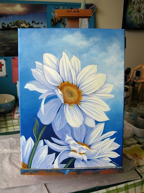 Serena lewis coming up daisies for How to come up with painting ideas