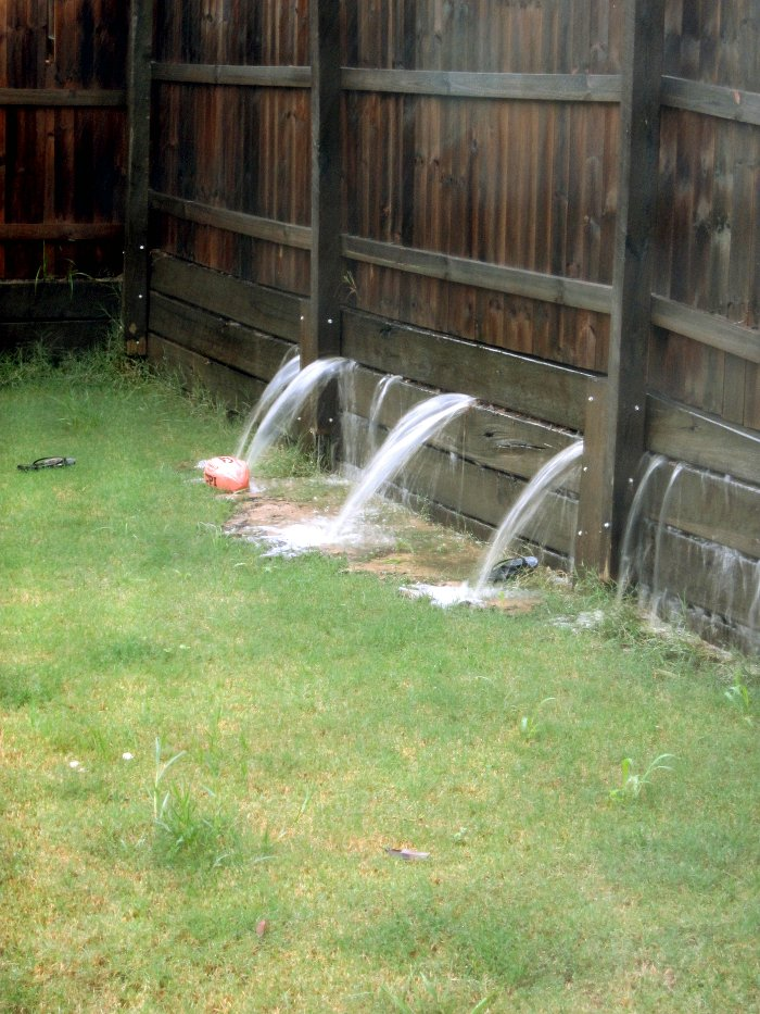 How to stop my backyard from flooding 28 images how to for Backyard flooding solutions