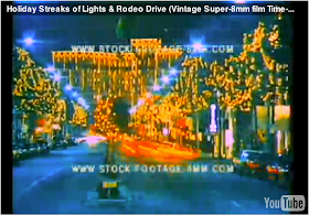 HOLIDAY TIME-EXPOSURE STOCK FOOTAGE