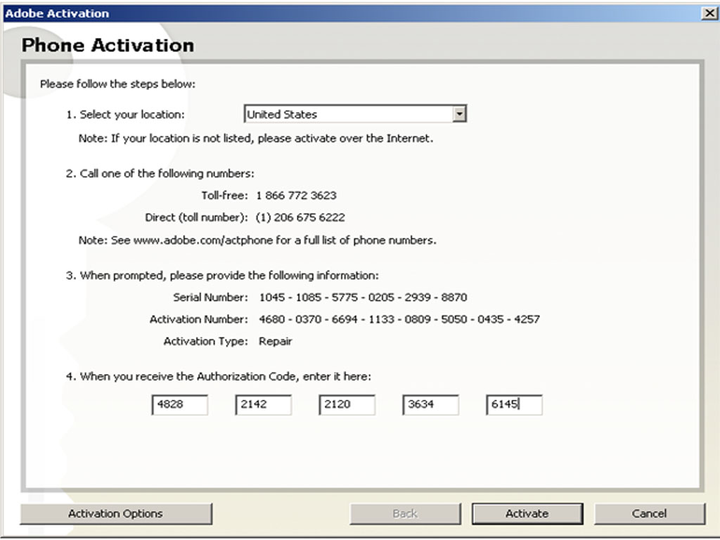 Activation code for photoshop cs2 free download full version
