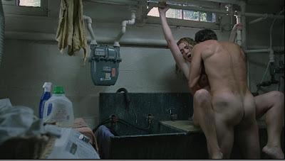 Sex scene in the kitchen