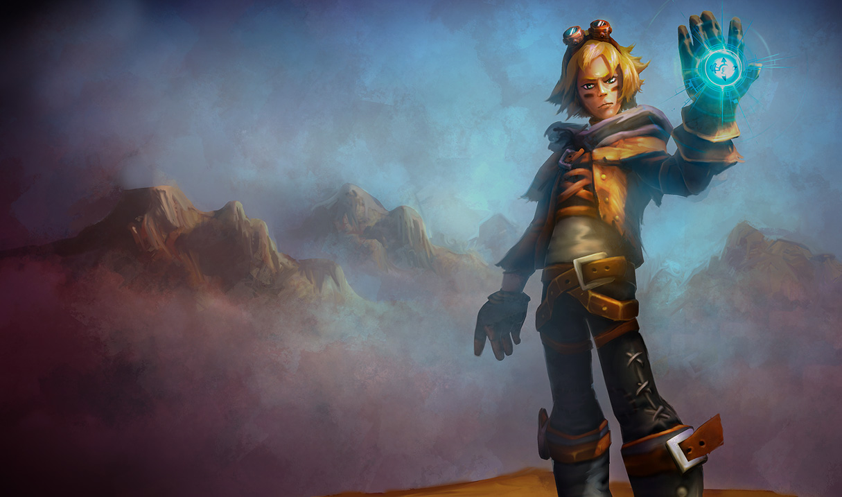 League of Legends Wallpaper: Ezreal - The Prodigal Explorer