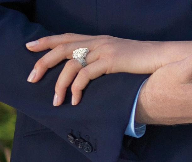 Princess Charlene Engagement Ring