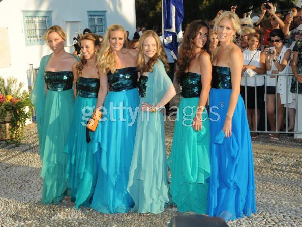 The Royal Order Of Sartorial Splendor Top 10 Worst Of 2010 3 Bridesmaids At Nikolaos And Tatiana S Wedding