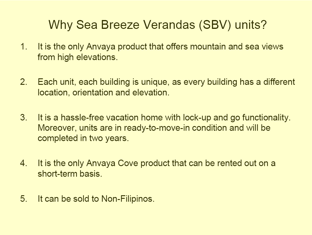 Ayala Land Premier Projects Sea Breeze Verandas Building