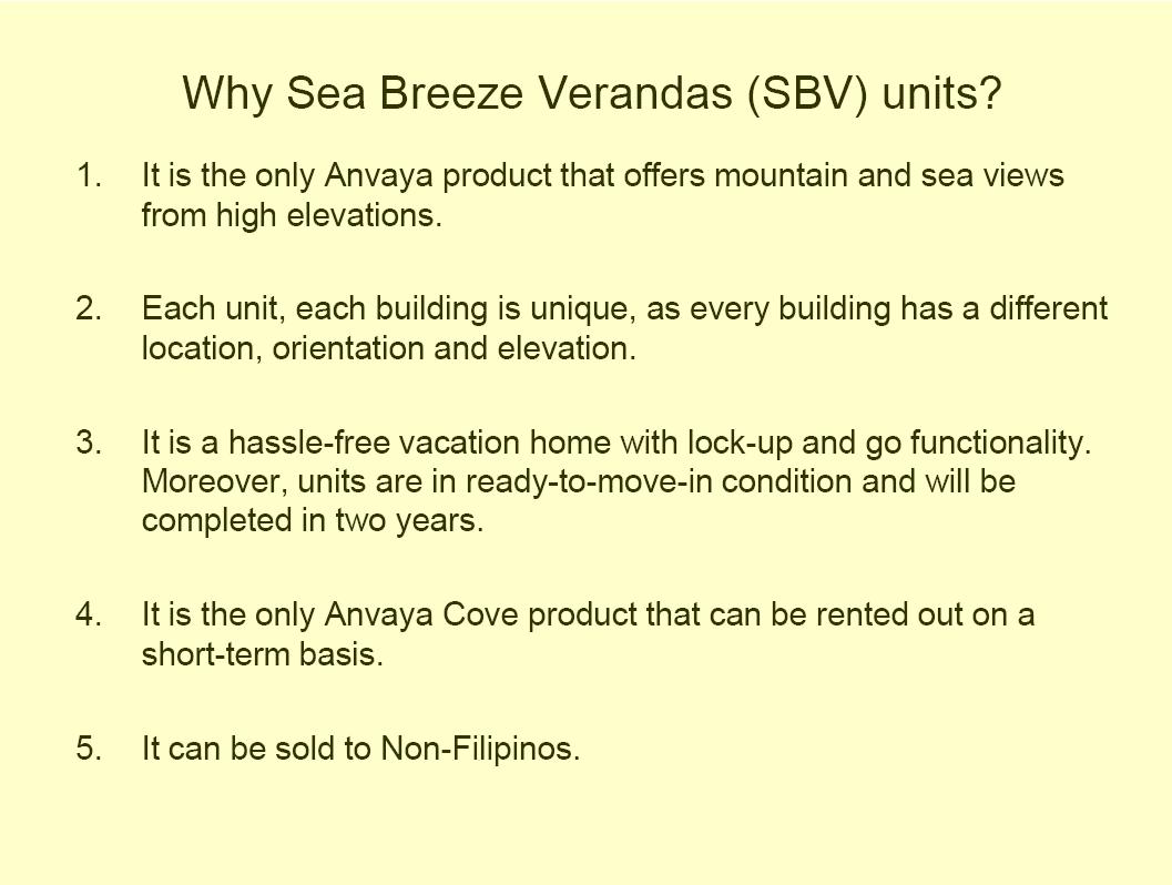 Ayala Land Premier Projects Sea Breeze Verandas Building