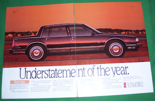1989 Oldsmobile 98 Regency Magazine Ad