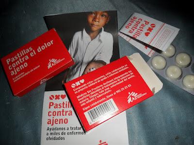 Pastillas Contra el Dolor Ajeno, de Médicos Sin Fronteras MSF