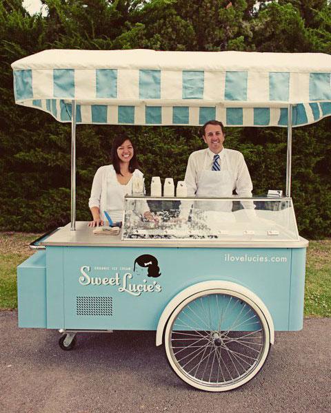 Vintage Ice Cream Cart 34