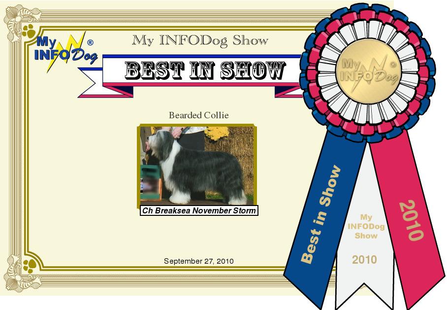 InfoDog Virtual Dog Show 9 27