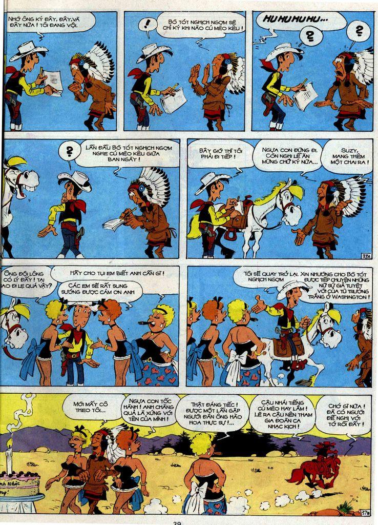 Lucky Luke tập 35 trang 37