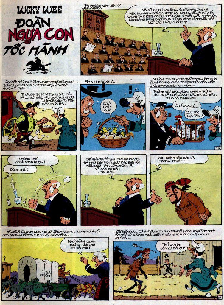 Lucky Luke tập 35 trang 1