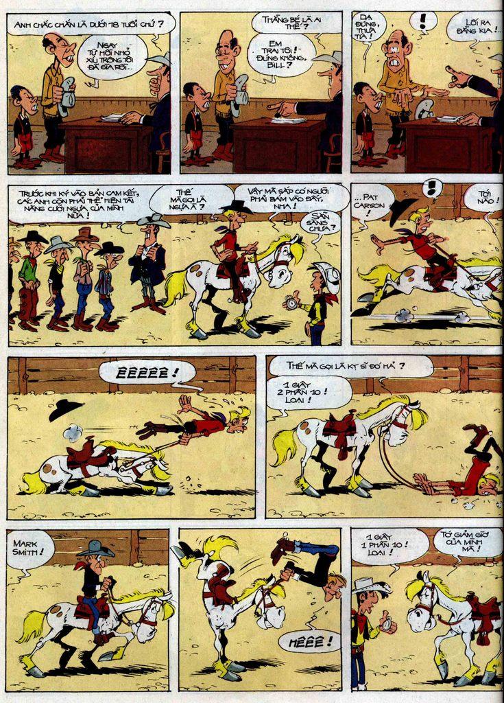 Lucky Luke tập 35 trang 8