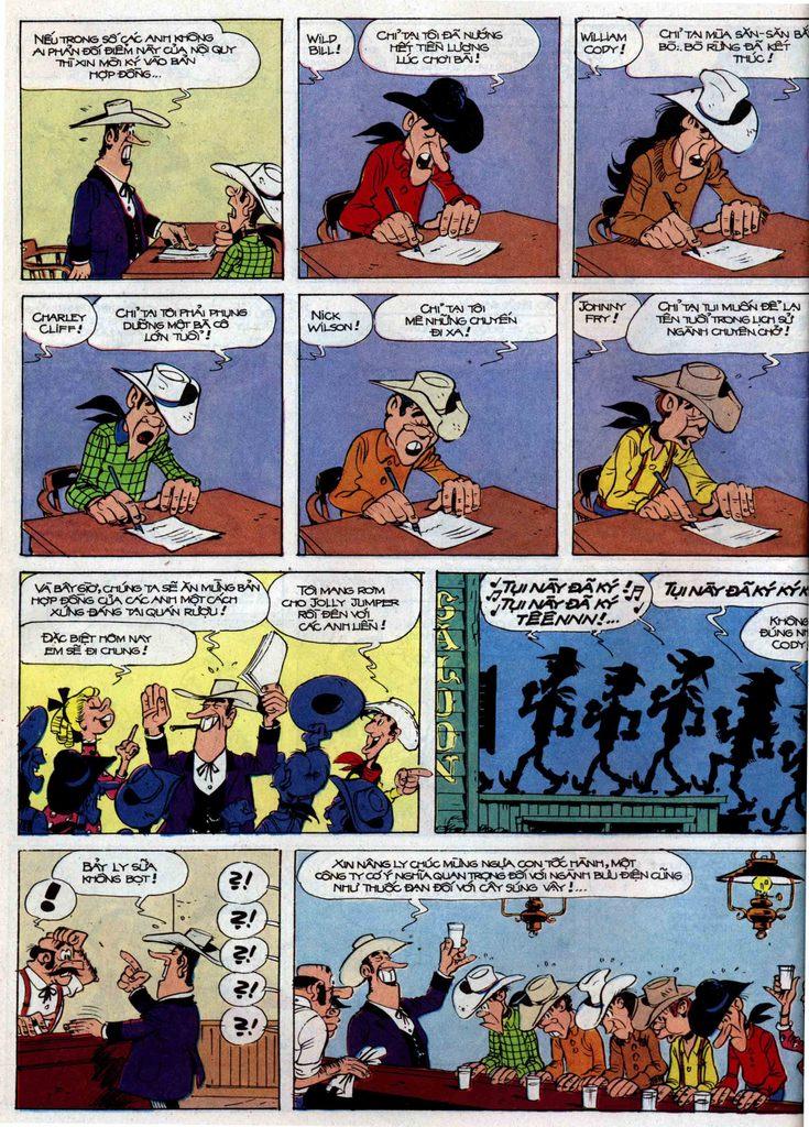Lucky Luke tập 35 trang 10