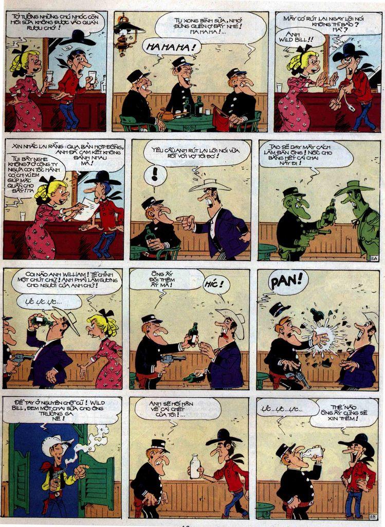Lucky Luke tập 35 trang 11