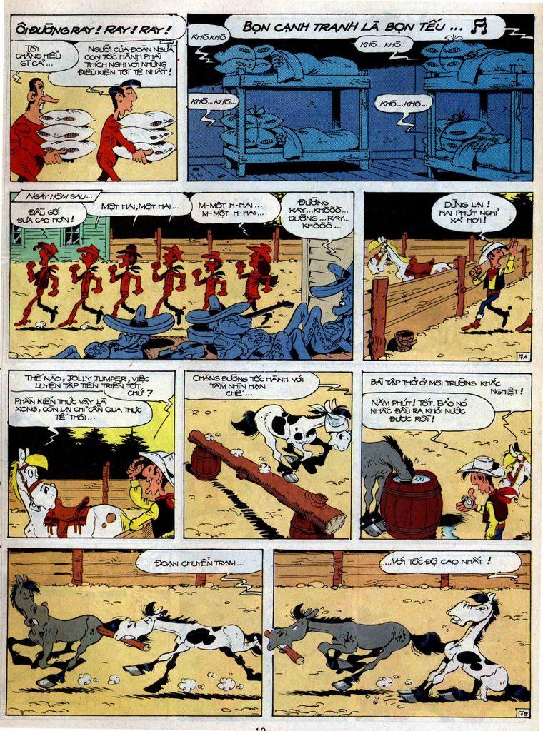 Lucky Luke tập 35 trang 17