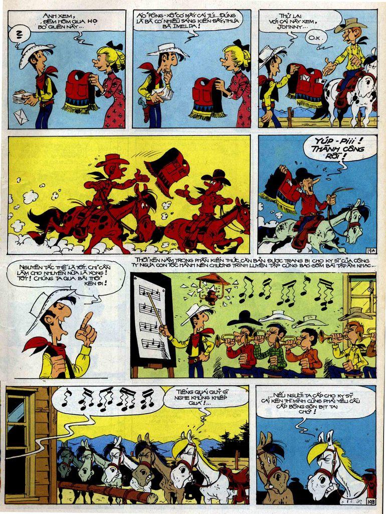 Lucky Luke tập 35 trang 19