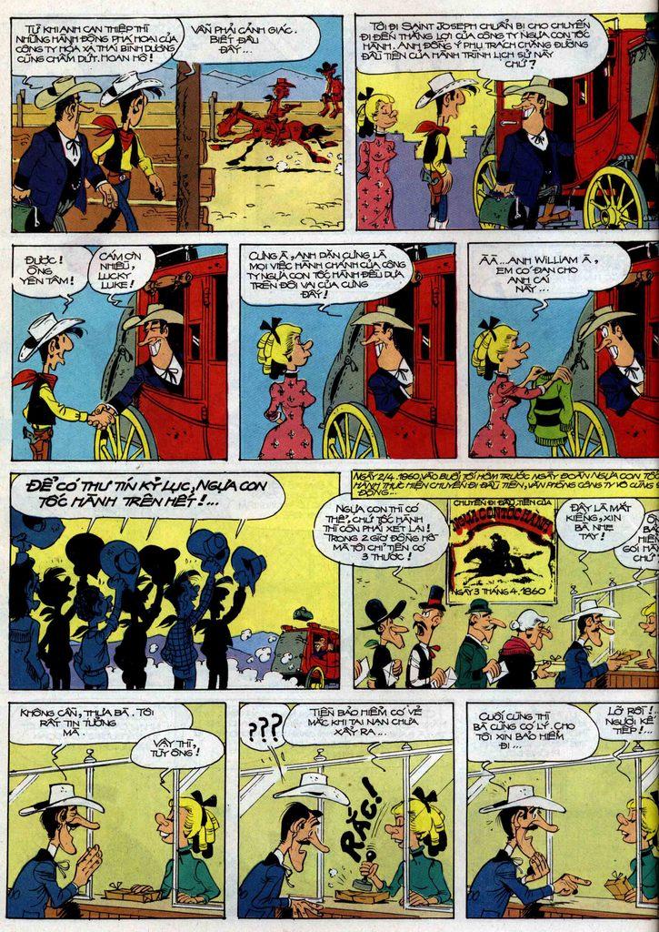 Lucky Luke tập 35 trang 22