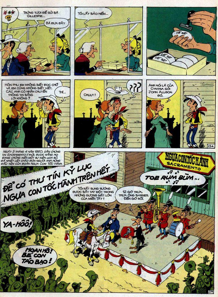 Lucky Luke tập 35 trang 23