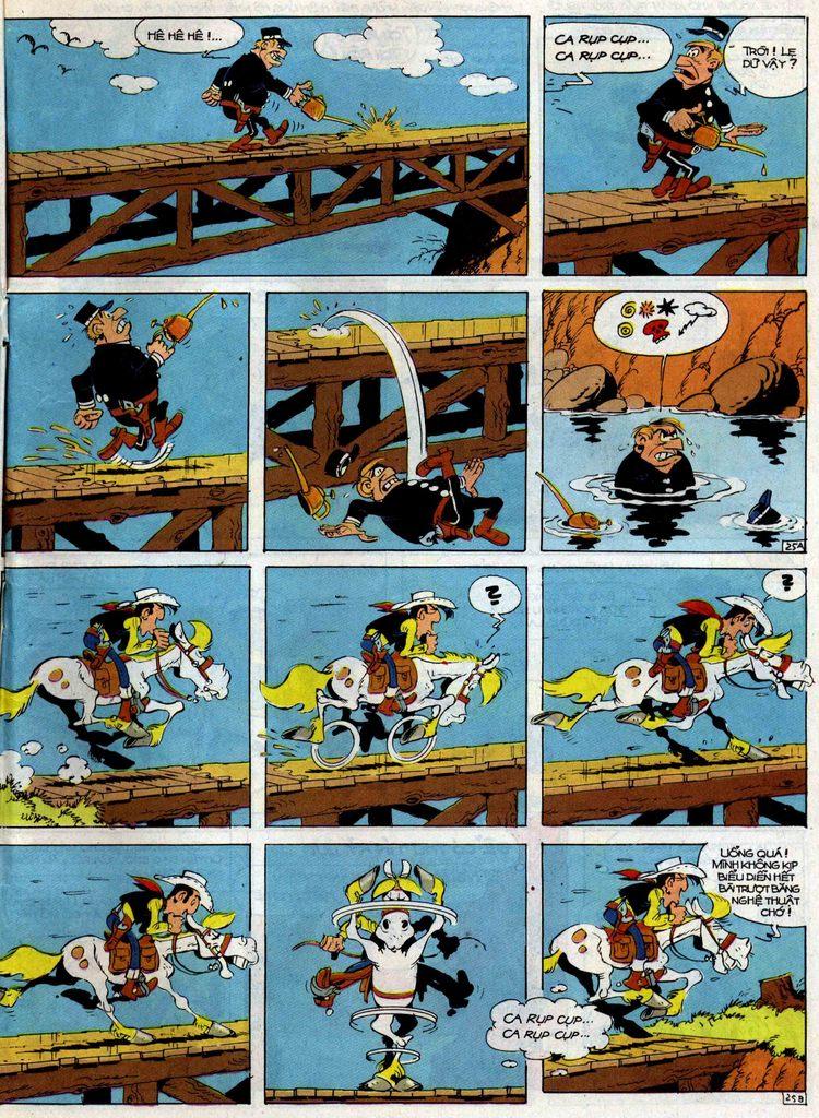 Lucky Luke tập 35 trang 25