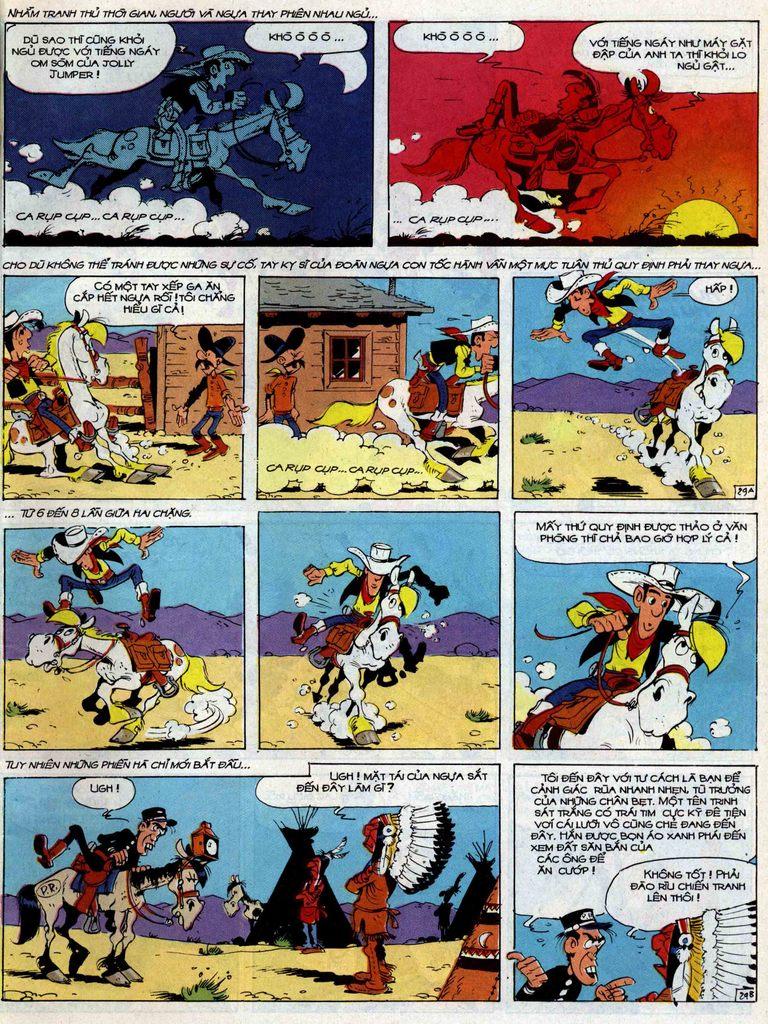 Lucky Luke tập 35 trang 29
