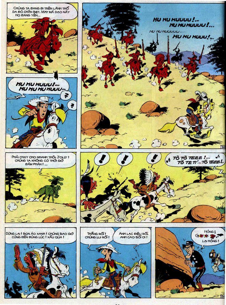 Lucky Luke tập 35 trang 30