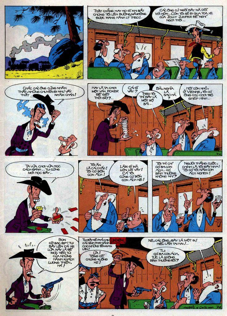 Lucky Luke tập 34 trang 7