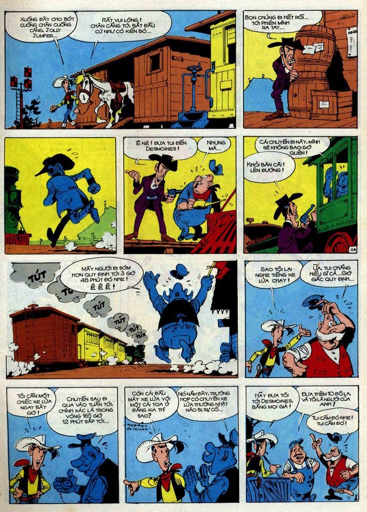 Lucky Luke tập 34 trang 11
