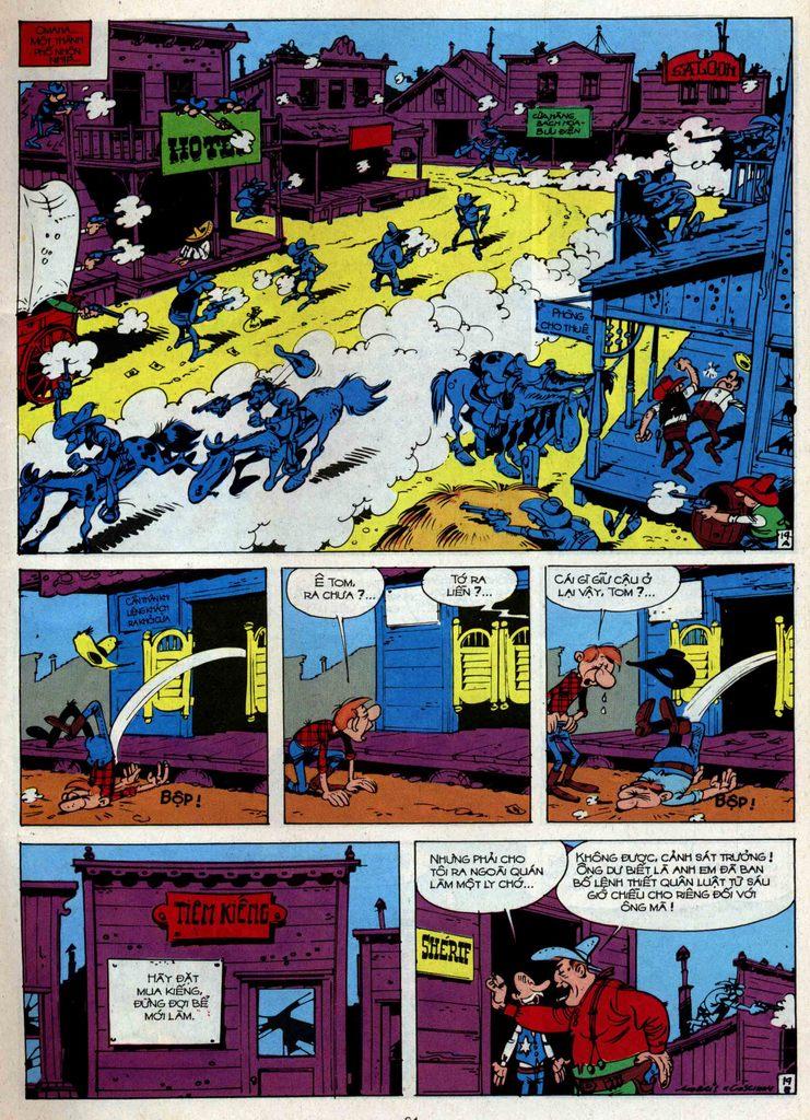 Lucky Luke tập 34 trang 19
