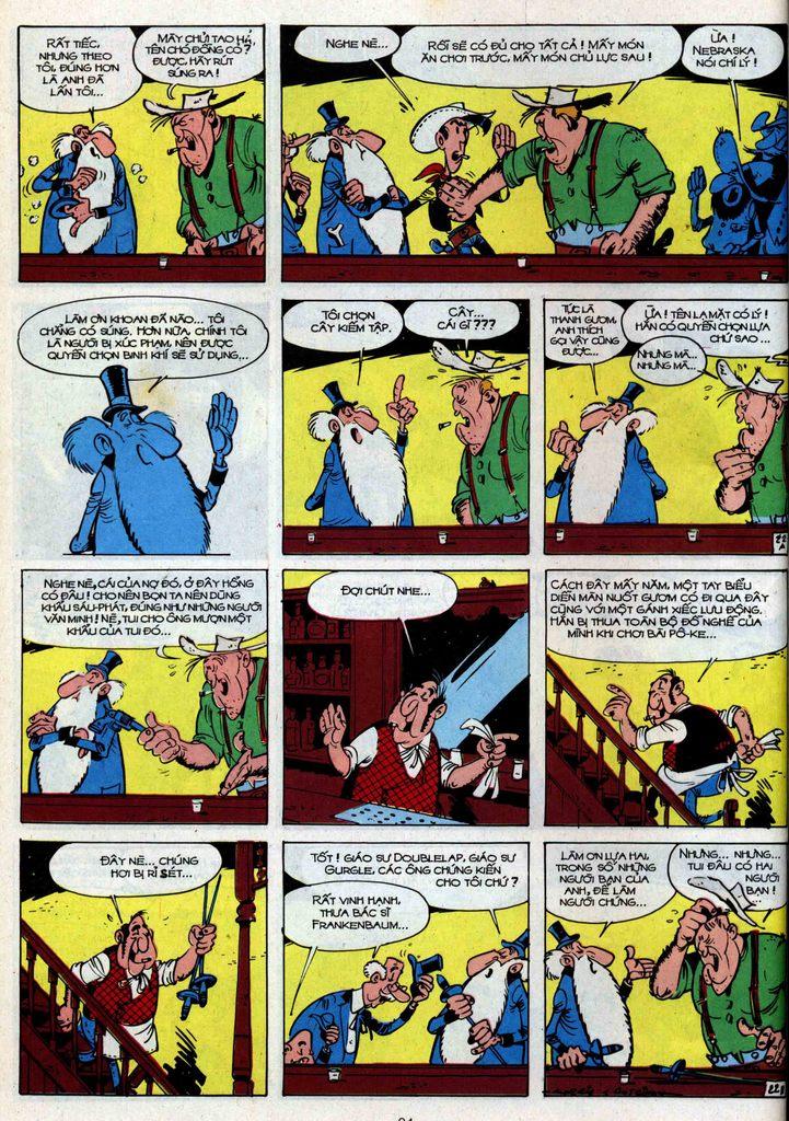 Lucky Luke tập 34 trang 22