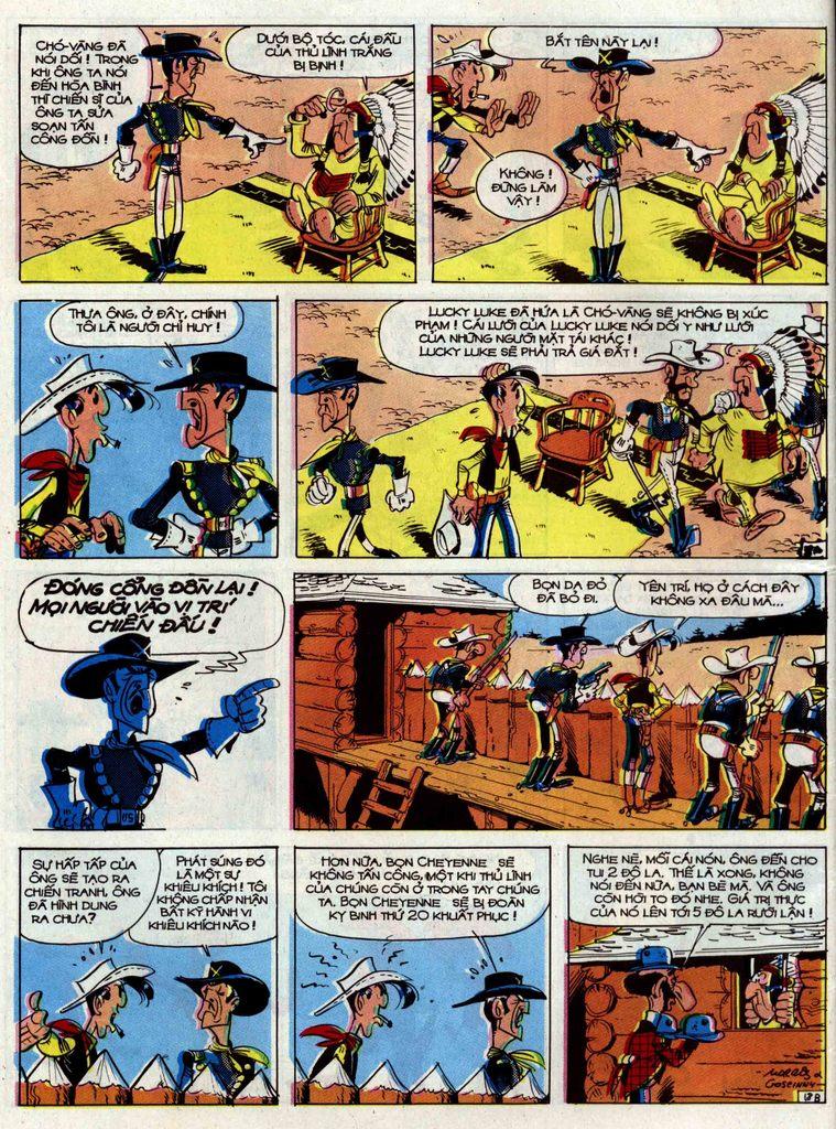 Lucky Luke tập 33 trang 18