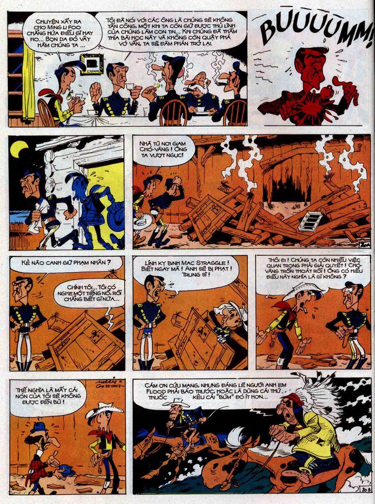 Lucky Luke tập 33 trang 20