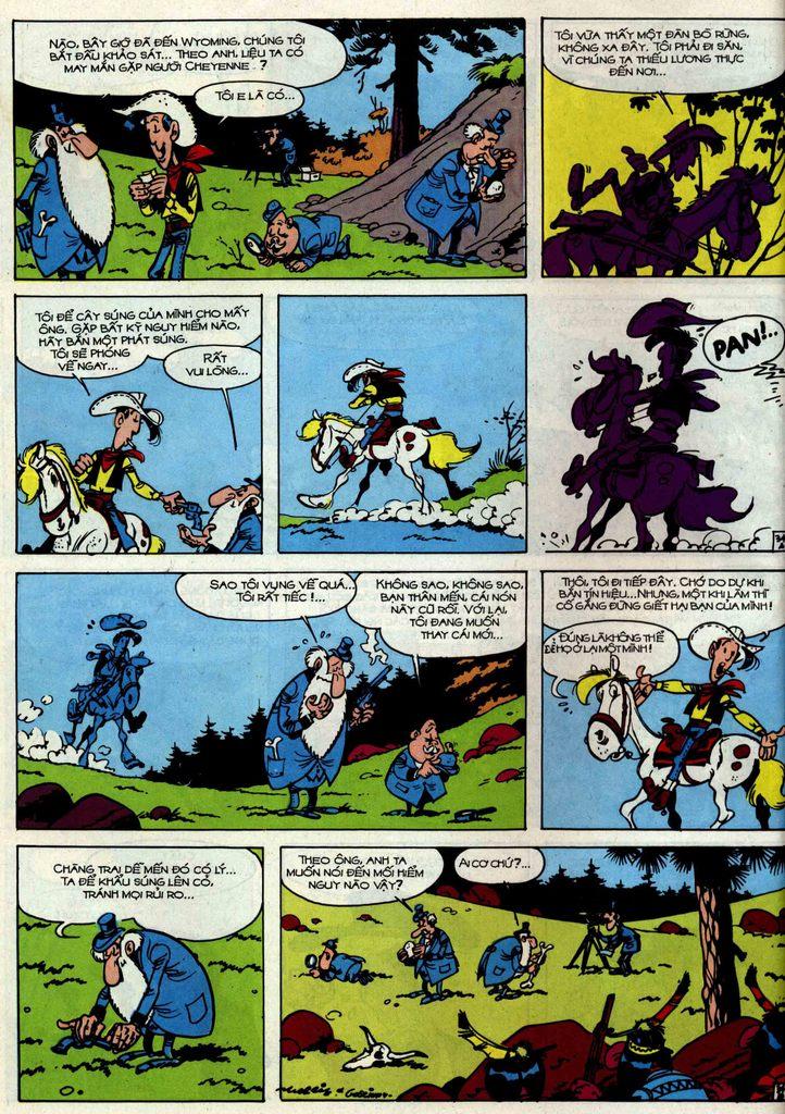 Lucky Luke tập 34 trang 34