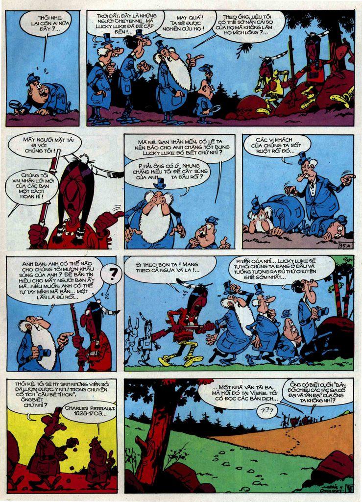 Lucky Luke tập 34 trang 35