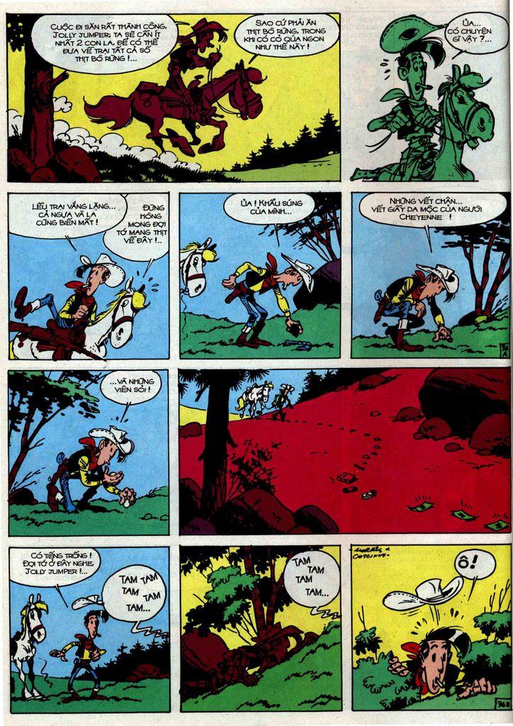 Lucky Luke tập 34 trang 36