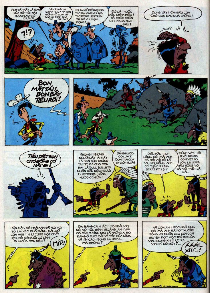 Lucky Luke tập 34 trang 40
