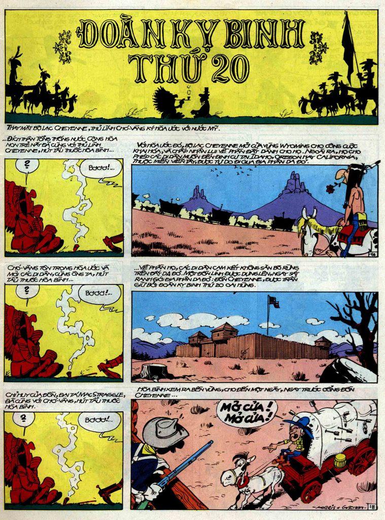 Lucky Luke tập 33 trang 1