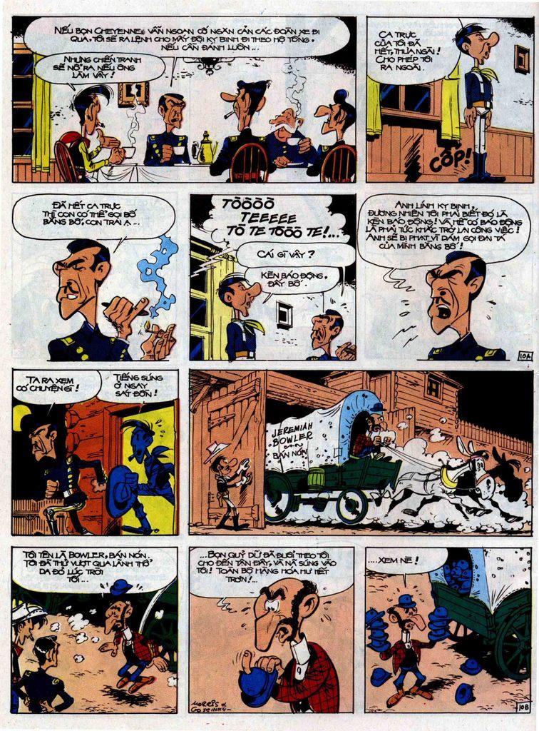 Lucky Luke tập 33 trang 10