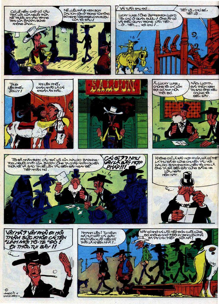 Lucky Luke tập 31 trang 6