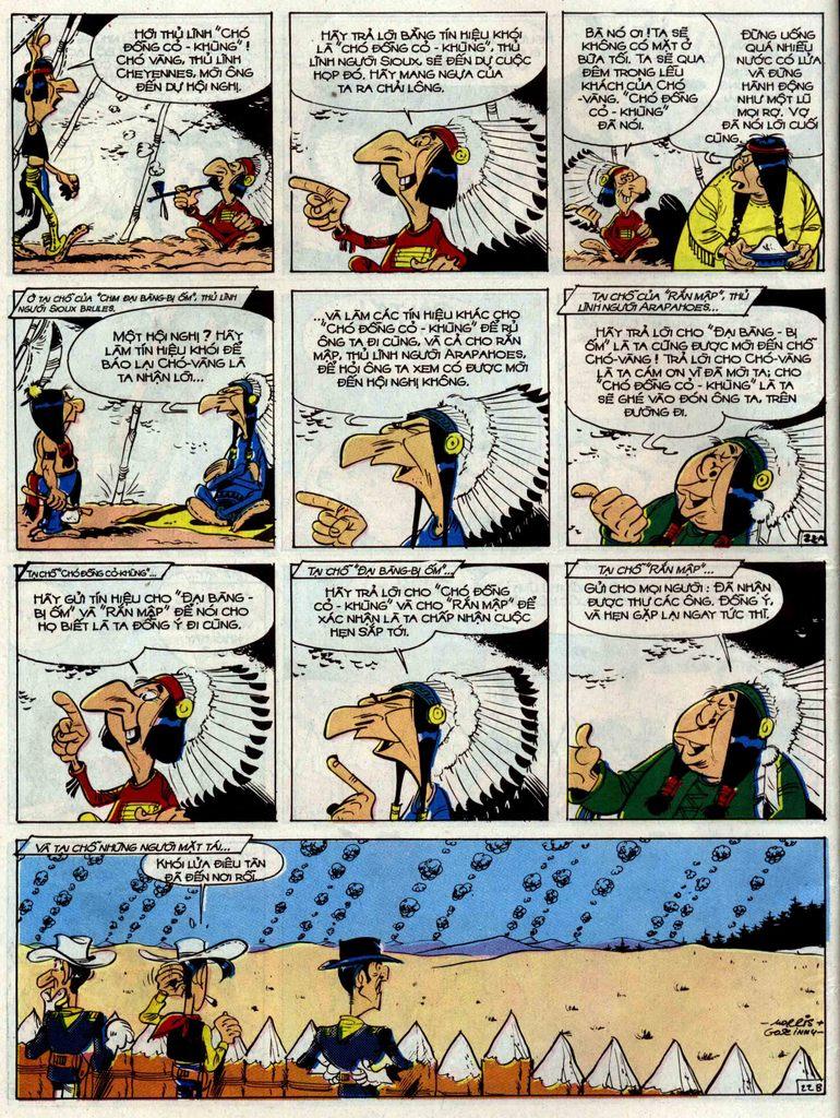 Lucky Luke tập 33 trang 22