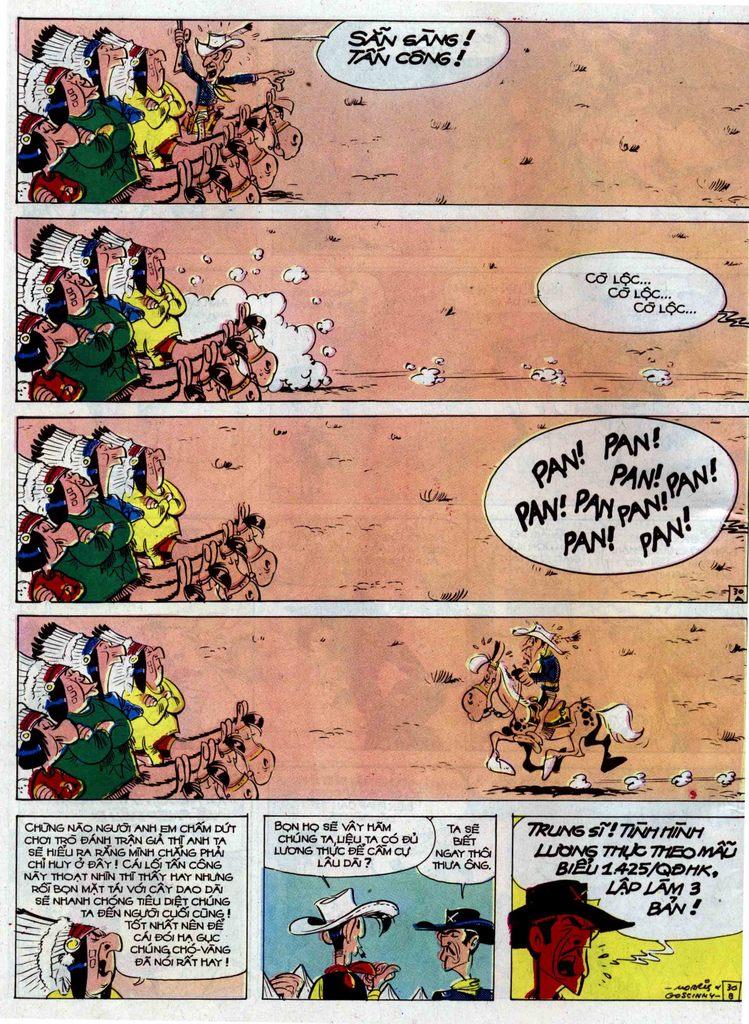 Lucky Luke tập 33 trang 30