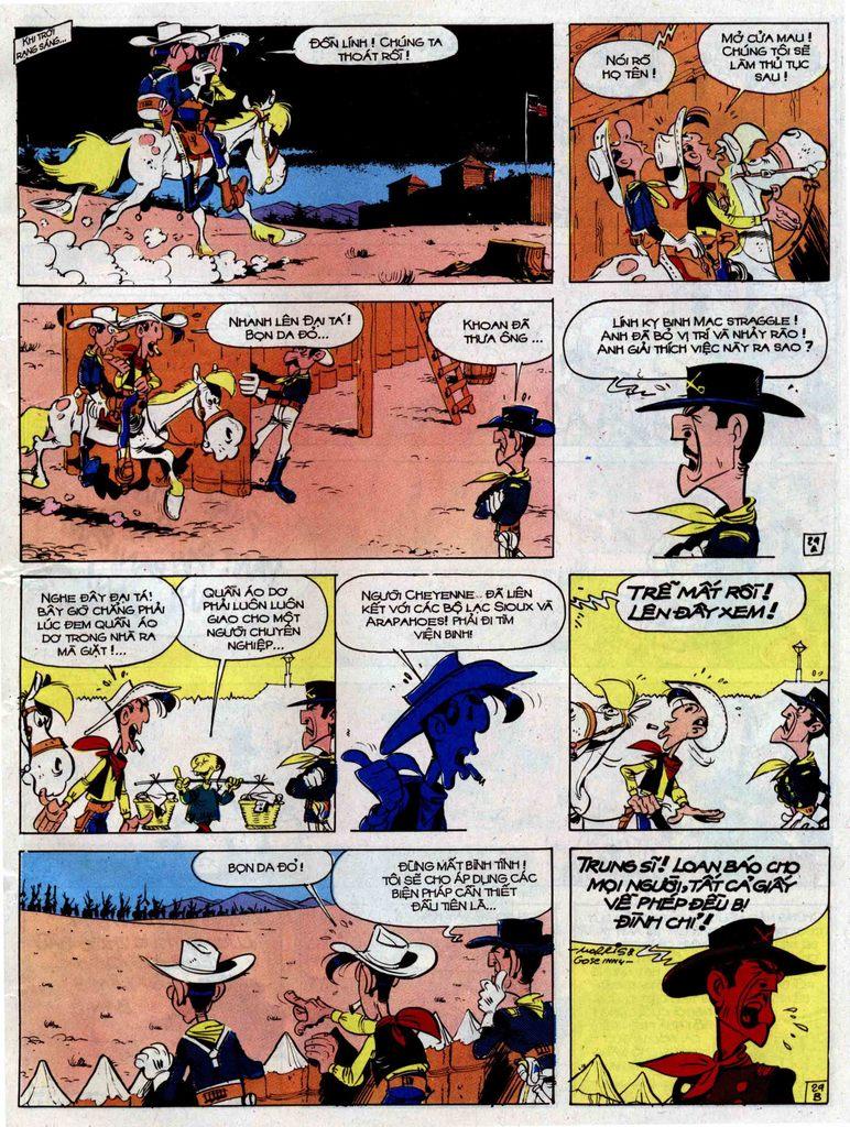 Lucky Luke tập 33 trang 29