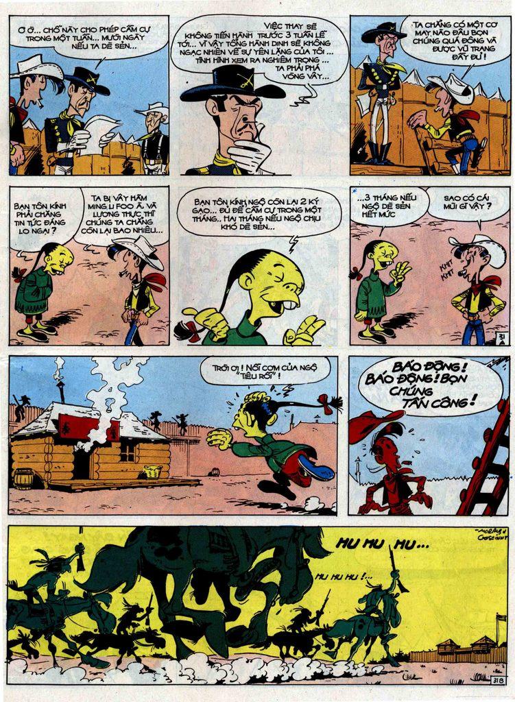Lucky Luke tập 33 trang 31