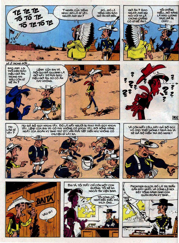Lucky Luke tập 33 trang 34