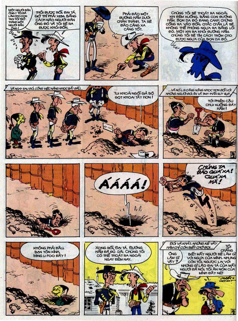 Lucky Luke tập 33 trang 36